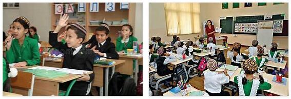 Turkmenistan School