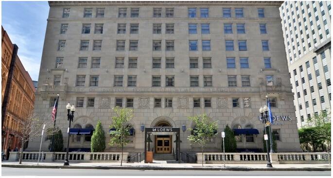 Loews Boston Hotel in the former prohibition-era police headquarters